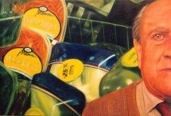 """""""Las cuatro estaciones"""", óleo/lienzo, 130x195 cm"""
