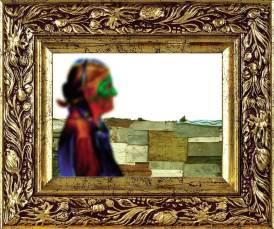 "S/T, serie ""Bañado Sur Reggaetón"", collage digital, 13x18 cm"