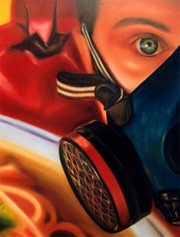 """""""Concierto"""", óleo/lienzo, 162x130 cm"""