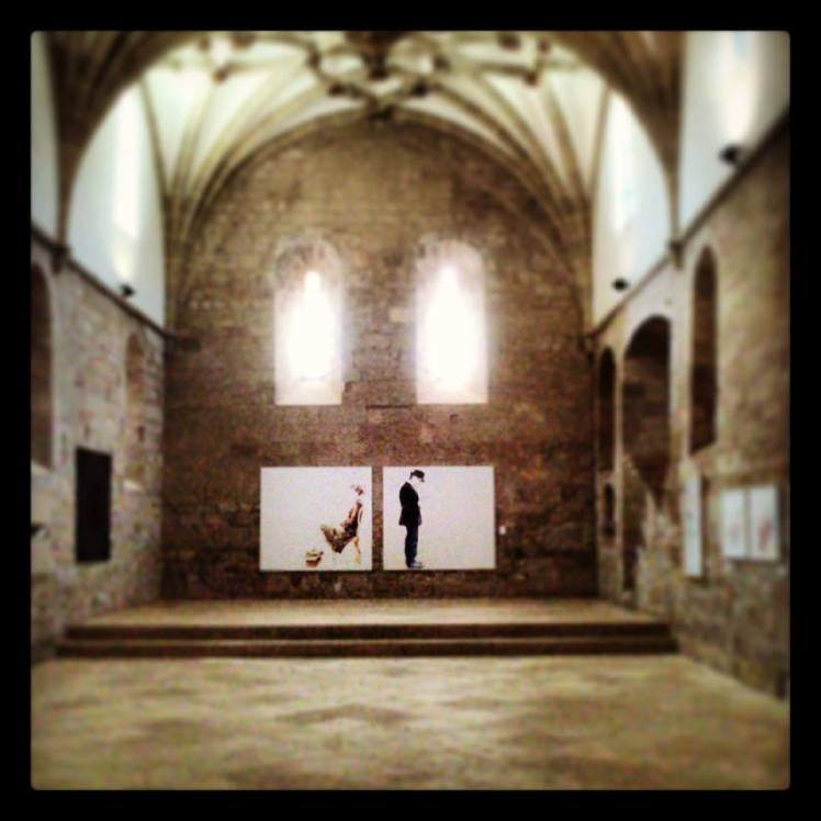 Obra de Javier Joven en el Monasterio de Veruela (2013)