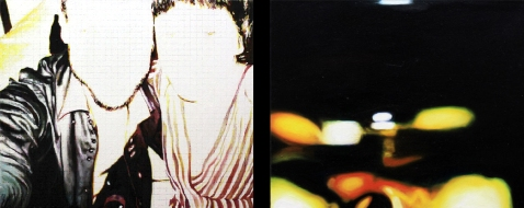 S/T, díptico, acrílico y óleo/lienzo 38x46 cm c.u.