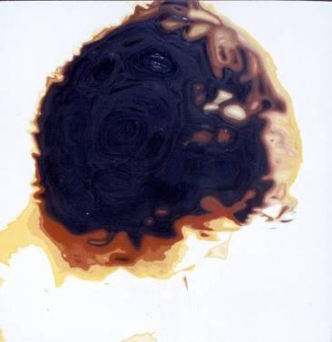 """Vivo"", óleo/lienzo, 150x150 cm"