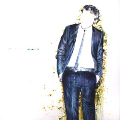"""""""Composición con silencio nº4"""", acrílico sobre lienzo, 150x150 cm."""